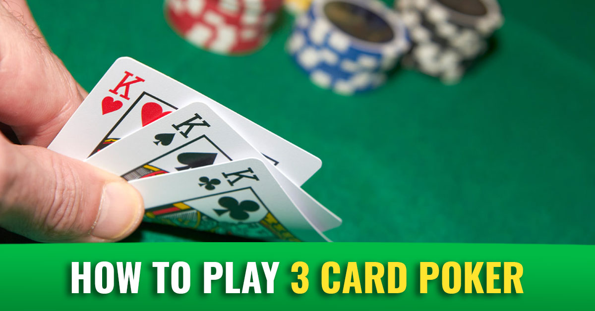 Top 3 Online Poker Strategy