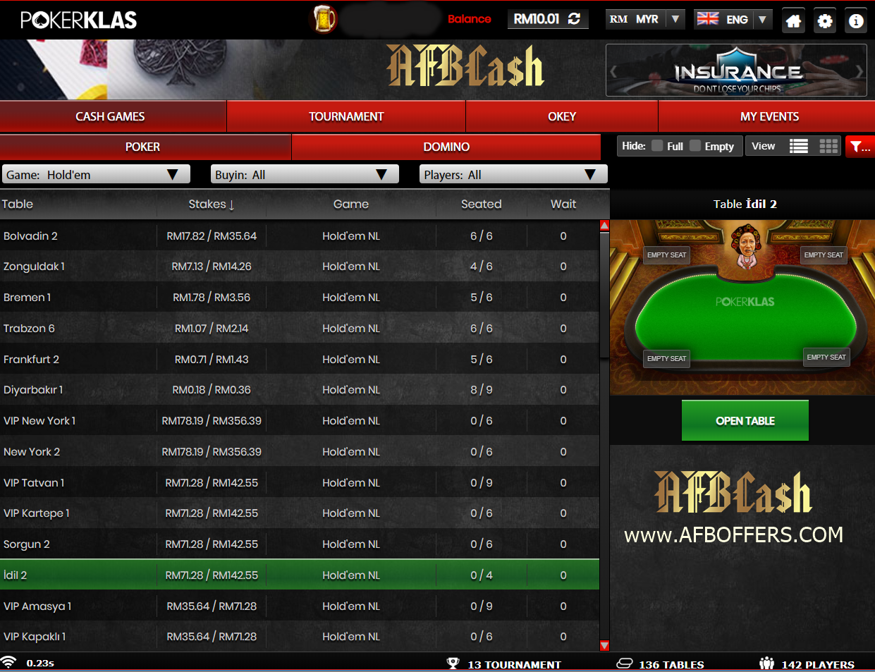 Online Poker Malaysia. Where Malaysian can Play?