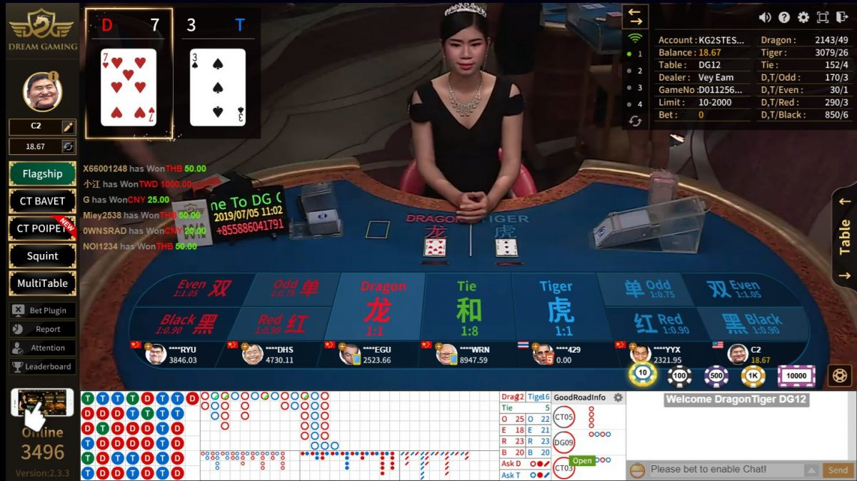 LIVE CASINO: 5 Tips to Win Dragon Tiger Online